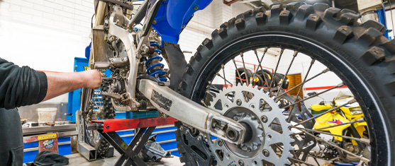 Book a service at Whitehouse Motorcycles